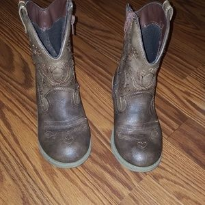 Cat & Jack cowgirl boots